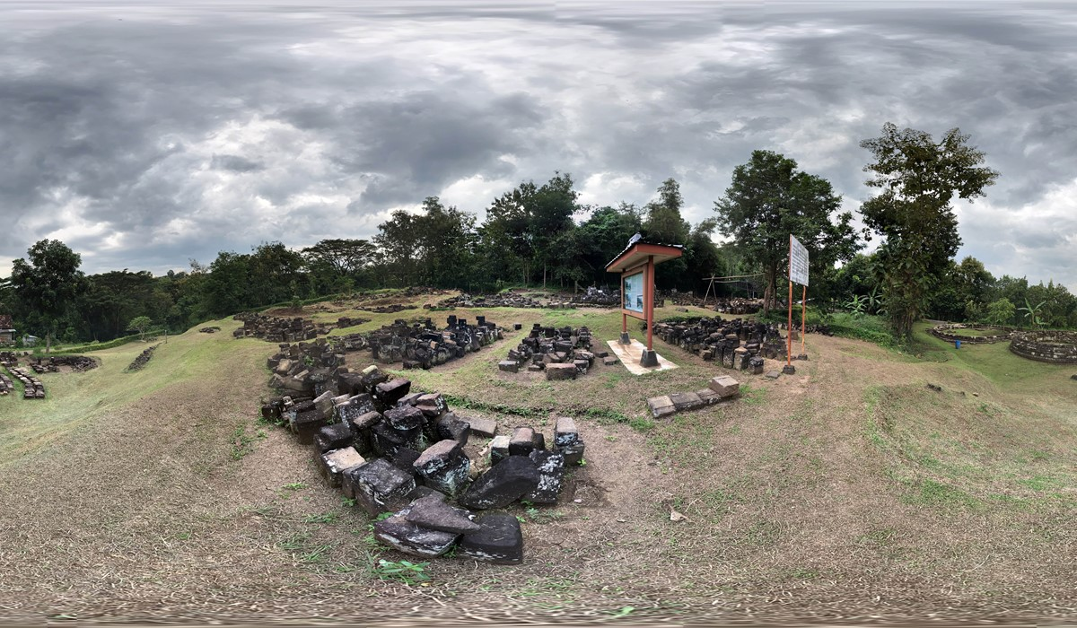 Virtual Tour Situs Candi Dawangsari